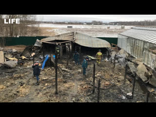 Восемь человек погибли в пожаре в Подмосковье