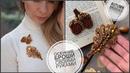 Осенние броши своими руками   как сделать брошь лист из бисера и бусин   beads brooch tutorial