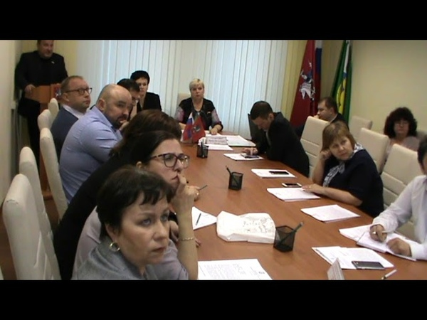 Заседание Совета депутатов муниципального округа Некрасовка 17 04 2019