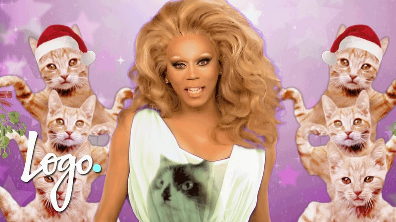 RuPaul s Drag Race: Green Screen Christmas You re the Star w Latrice Royale Logo