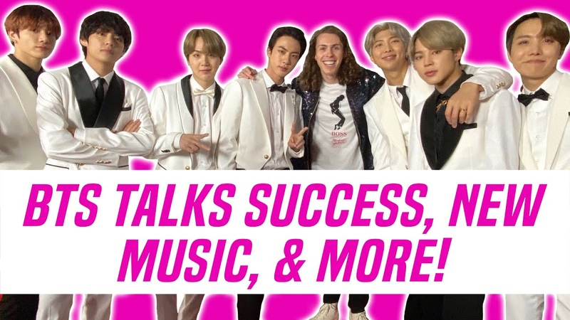 BTS Teases New Music and Talks Success at Jingle Ball 2019