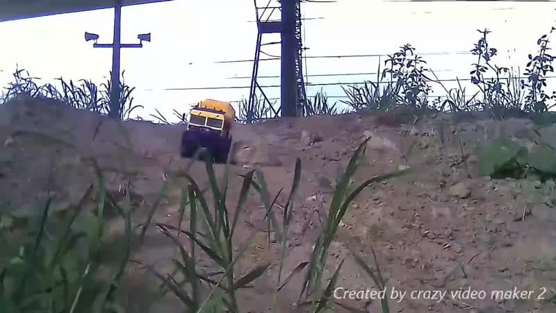 ТЕСТ ДРАЙВ RC модели вездехода ЧЕТРА ТМ-140, в масштабе 124