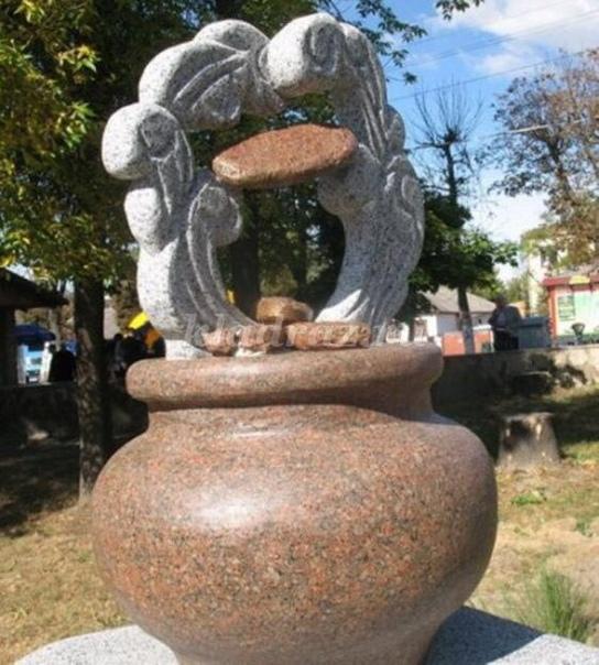 Памятники овощам и злакам