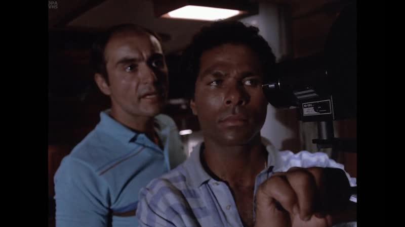 Полиция Майами: Отдел нравов / MIAMI VICE. Сезон 1, эпизод 8. «Нет выхода» . СТС. VHS