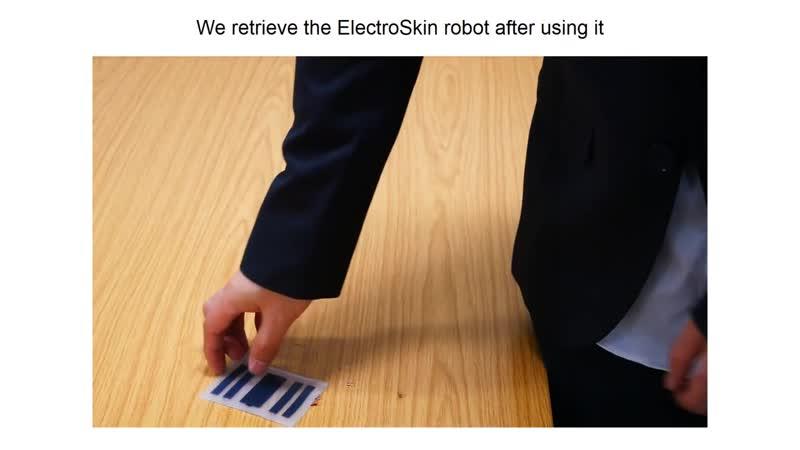 ElectroSkin — робот в виде полоски искусственной кожи
