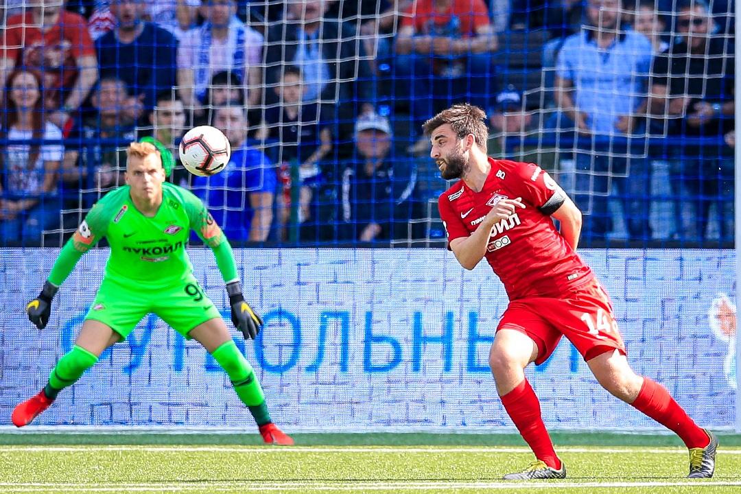 «Спартак» в гостях проиграл «Оренбургу» (Видео)