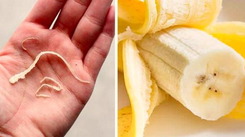 Вы наверняка замечали ЭТИ ВОЛОКНА, когда чистили бананы! Оказывается их не стоит...