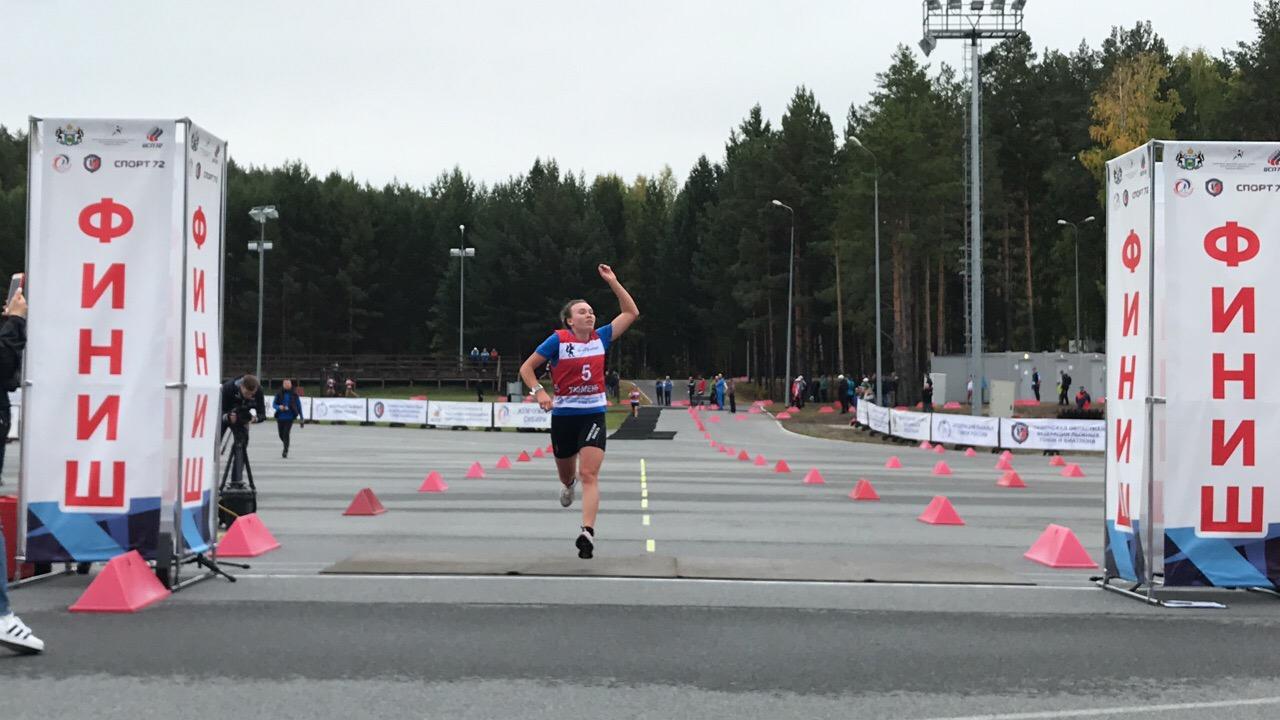 Победный финиш Екатерины Смирновой