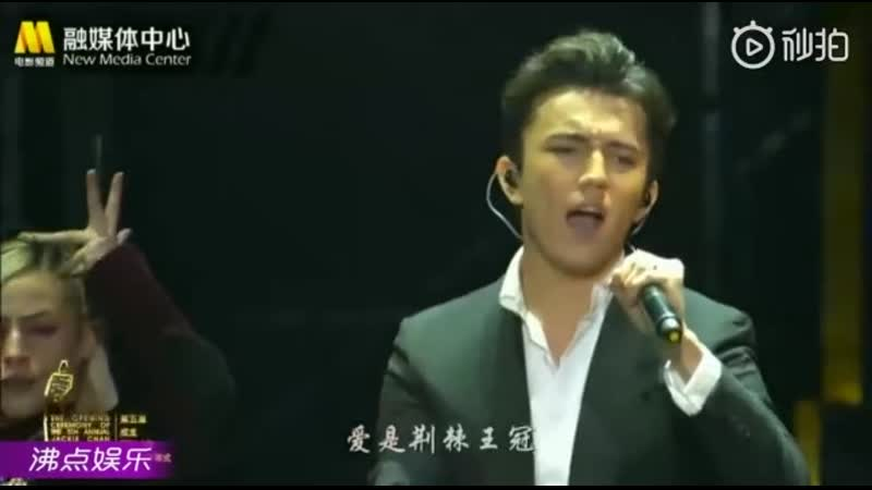 Dimash The Crown Jackie Chan International Action Film Week Димаш Кудайберген