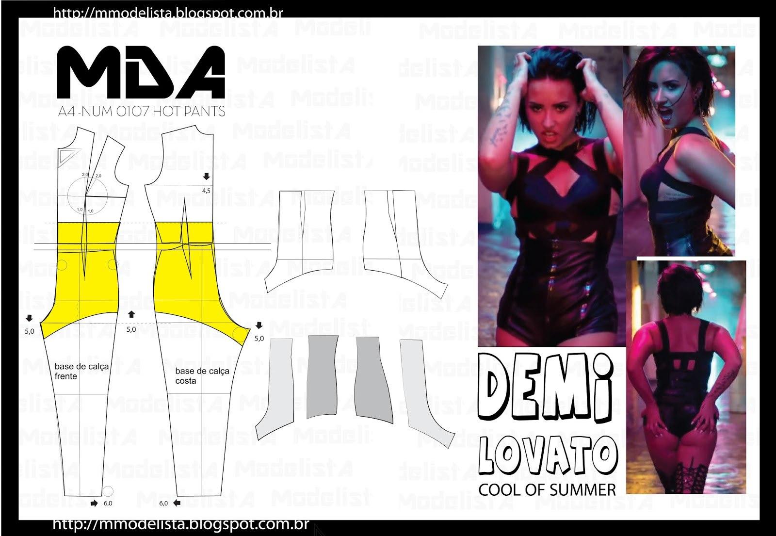 Моделирование шортиков с высокой посадкой: костюм для танцев