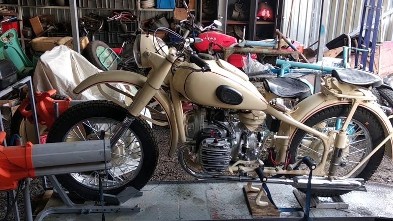 М 72 обкатка двигателя и настройка карбюраторов Реставрация мотоцикла Ретроцикл