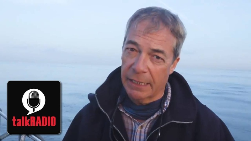 Nigel Farage Boris Johnson does not have the political will to tackle migrant boat crossings
