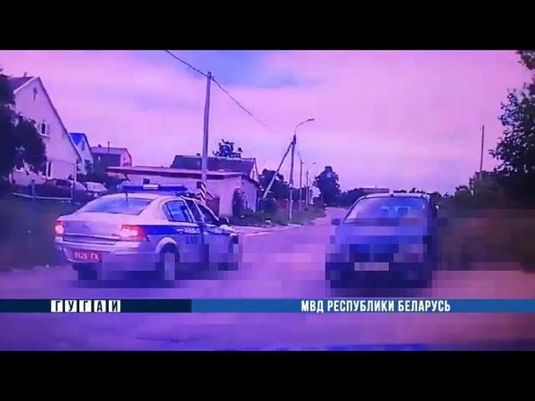 В Волковысске пьяный водитель пытался уйти от погони