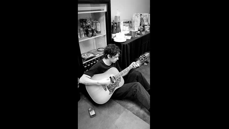 Matty playing
