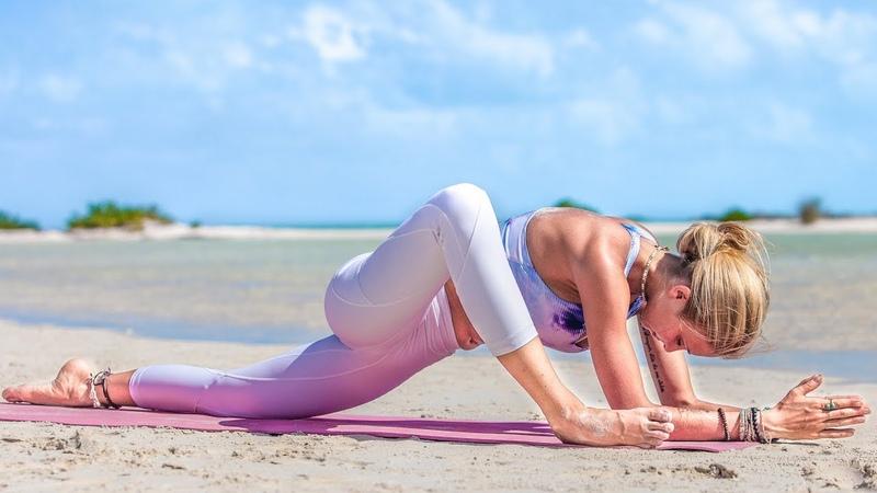 Yin Yoga For Flexibility ♥ A Sore Hip Hamstring Love Song