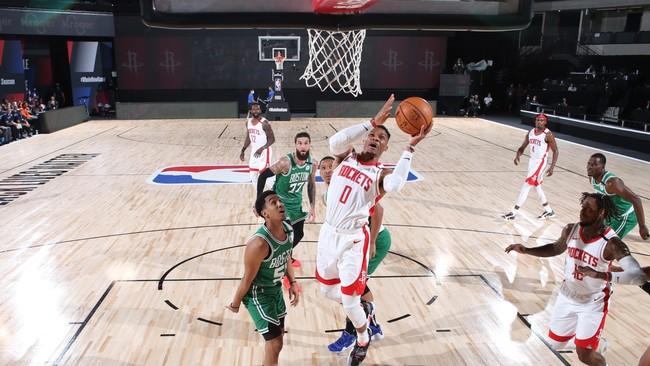 Контрольный матч НБА  Хьюстон Рокетс — Бостон Селтикс 29.07.2020