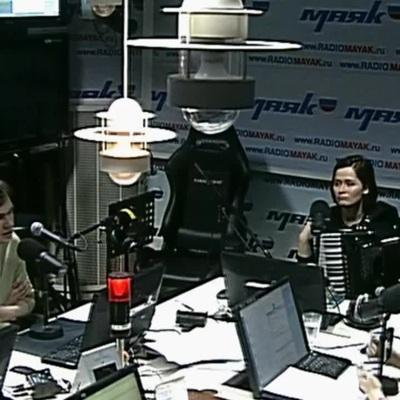 Маяк ПРО. Живой концерт. Вадик Королёв и Женя Попова / Радио Маяк