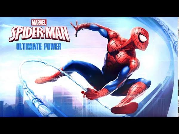 Spider Man Ultimate Power java game gameplay Совершенный Человек Паук java игра Gameloft