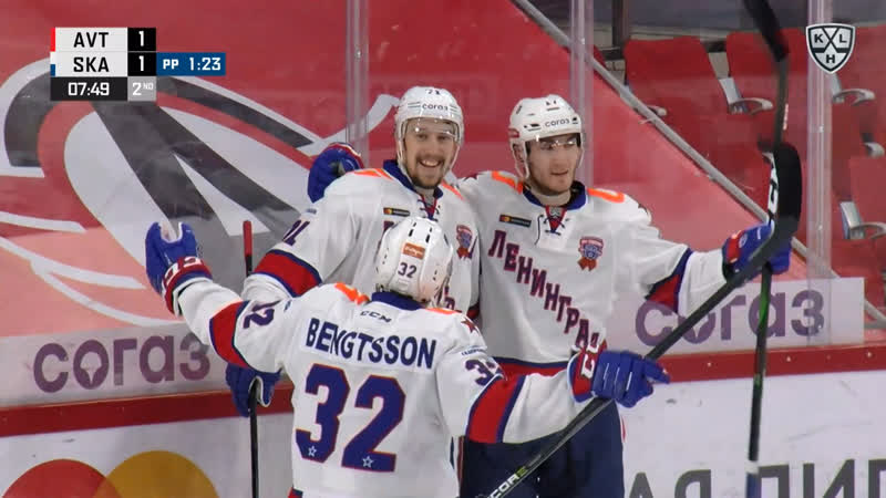 Иван Морозов завершает отличный розыгрыш большинства СКА