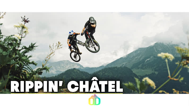 Tons Of Air Time at Châtel Bike Park Big Mountain Freeriding Ride With The Swedes S2E4