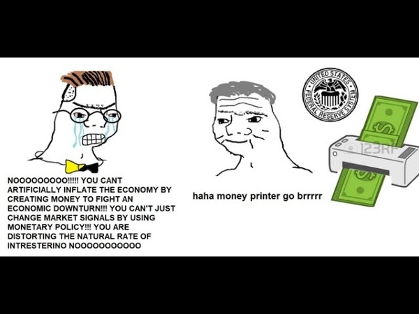 HAHA MONEY PRINTER GO BRRR