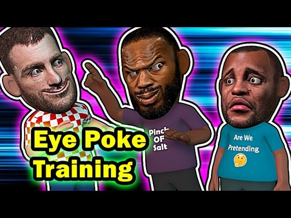 Jon Jones Trains Stipe for DC eye pokes