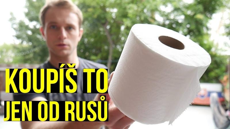 Američanům došel toaletní papír Zachraňují je ruské obchody