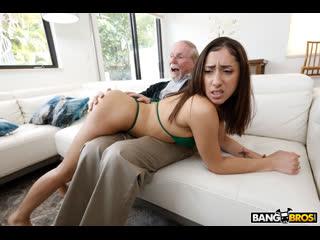 Kira Perez - Kira Gets Pounded By Grandpa - Porno, Blowjob, Brunette, Hardcore, Cumshot, Amateur, Latina, Teen, Porn, Порно