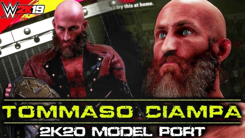 Tommaso Ciampa 2K20 Character Model Port WWE 2K19 PC Mods
