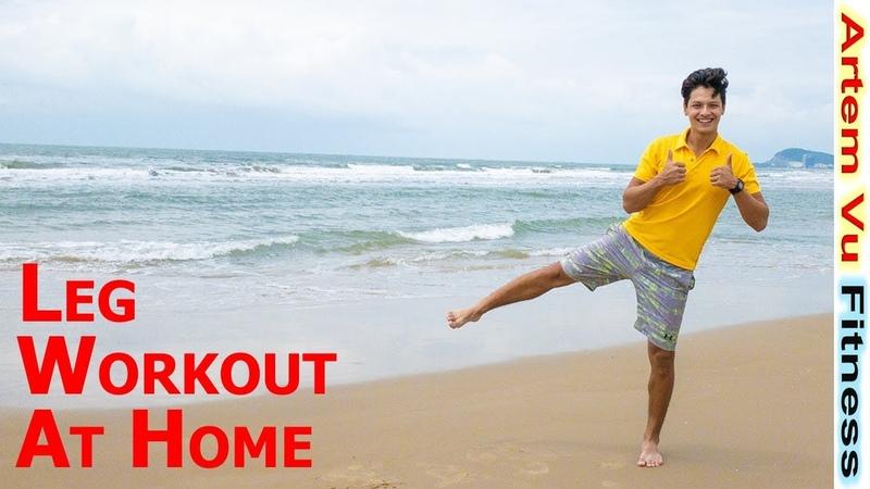 5 Minutes Leg Exercises at Home ArtemFitness