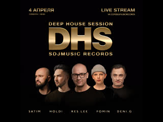 SDJMusic Records Weekend Deep House Session 04/04/2020