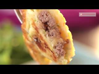 Кабачковые блины с начинкой - мой любимый рецепт для вкусного ужина!