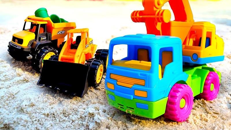 Blaze ve Crusher ile inşaat oyunu. Araba oyunları.