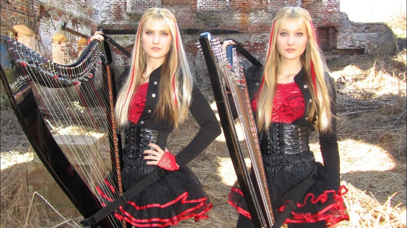 IRON MAIDEN Fear of the Dark Harp Twins Camille and Kennerly HARP METAL