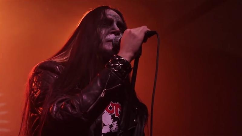 Raven Throne Pakiń… Desine sperare qui hic intras live blackened metal