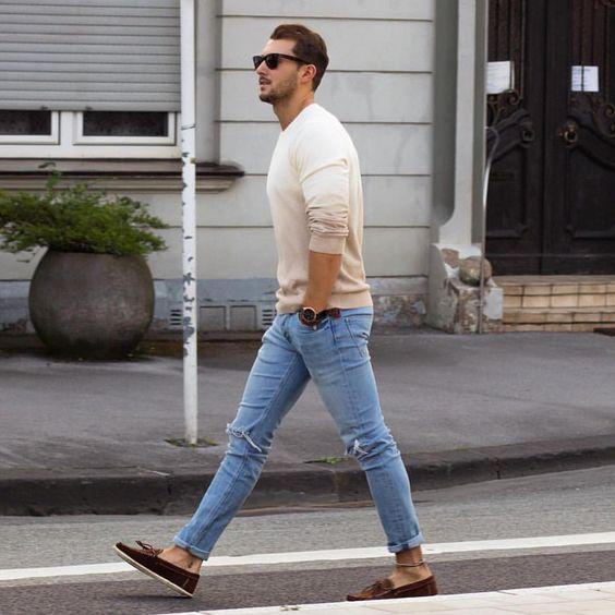 Модные мужские образы весна — лето 2019.