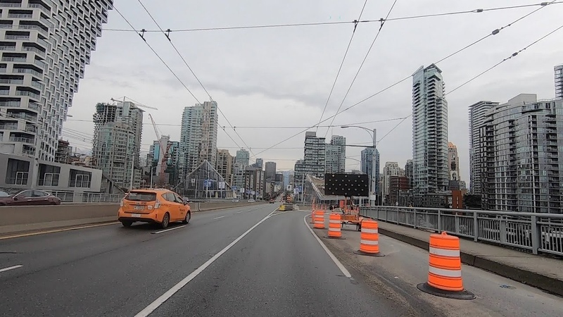 Downtown Vancouver Canada Driving in the City Centre 2020 All Areas Covered