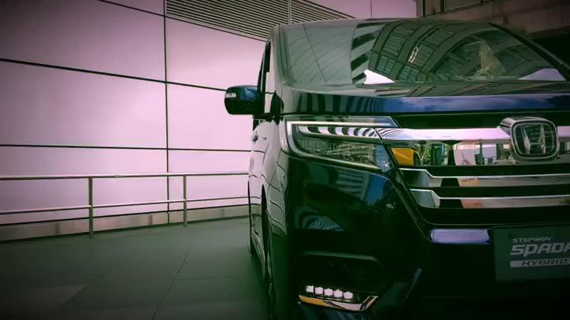 ホンダ 新型 ステップワゴン スパーダ ハイブリッド G・EX ホンダセンシング 実車見て 480 X 480 mp4