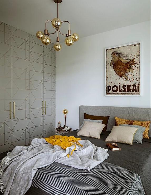 Маленькая квартира 36 м²для сдачи в аренду в Польше по проекту студии Poco Design