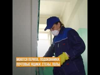В Вологде и Череповце обрабатываю подъезды
