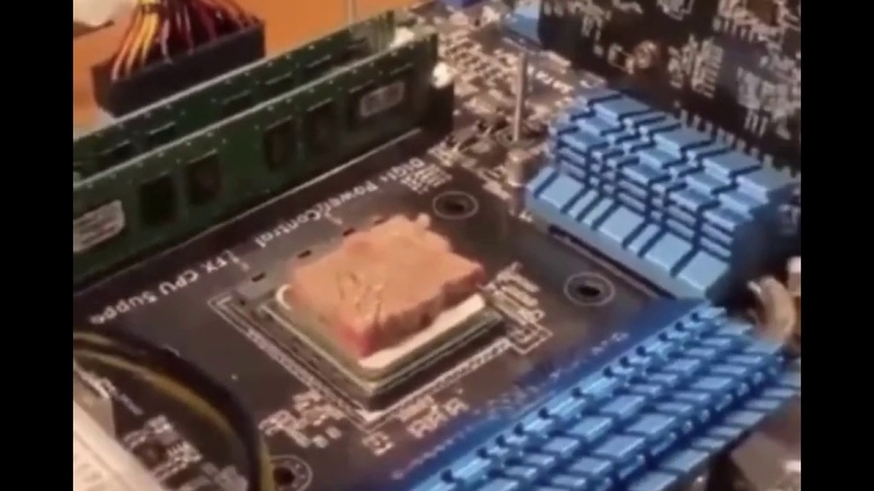 Cooking Steak On a CPU