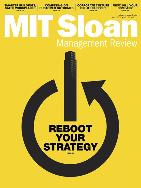 MIT Sloan Management Review Fall 2020
