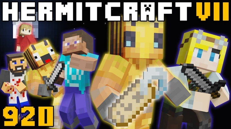 Hermitcraft VII 920 Tag 2 Electric Boogaloo The Big Finale