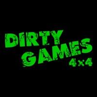 Логотип DIRTY GAMES - Чемпионат по off-road играм