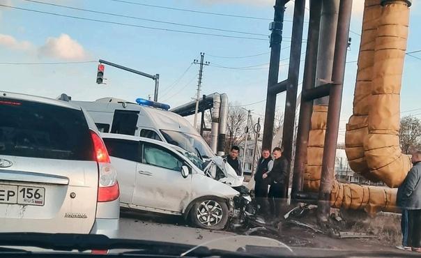 ДТП на перекрёстке ул. Дорожная / ул. Объездная...