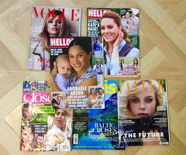 Отдам журналы на Английском языке . Забирать Крест...
