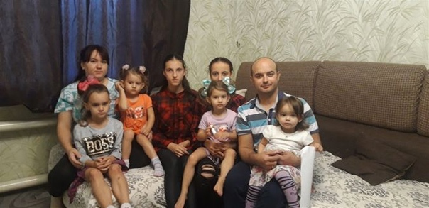 Отец шестерых детей Сергей Ананкин из п. Маяк: