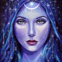 Логотип Дивия - Богиня светлой ночи