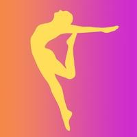 Логотип РЕЗОНАНС / Школа эстетической гимнастики