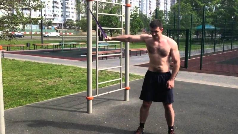Влас Фролов летняя тренировка с петлями R4P
